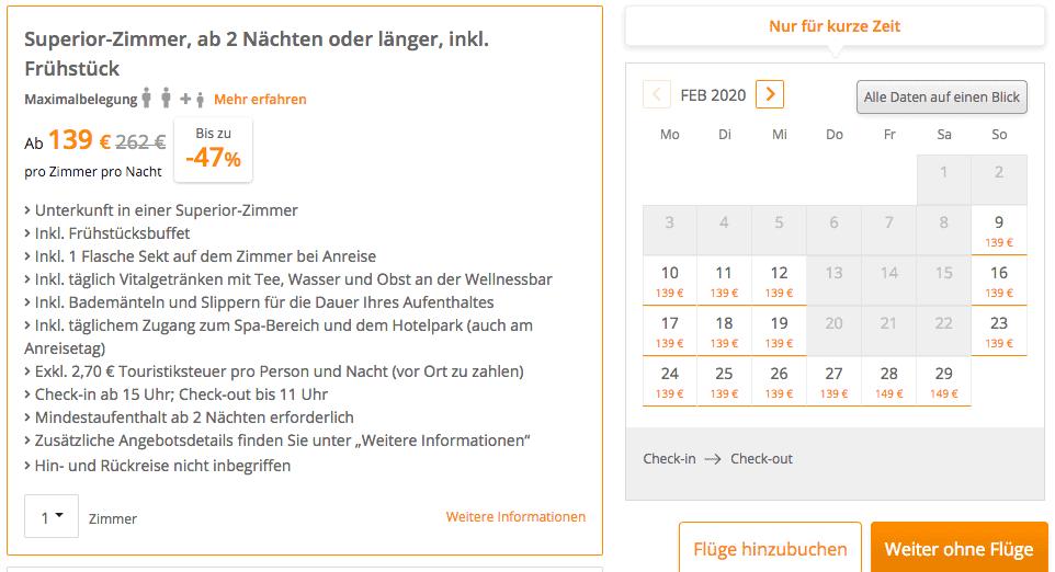 Bad Wörishofen Hotel Angebot