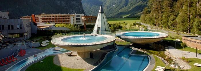 Luxus Thermenurlaub: 3 Nächte inkl. Halbpension im 4* Aqua Dome in Tirol für 369€ pro Person – Gutschein 1 Jahr gültig!