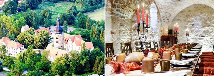 Wasserburg zu Gommern: 2 Nächte im 4*Hotel inkl. Frühstück und 1×4 Gänge Menü ab 185€ für 2 Personen