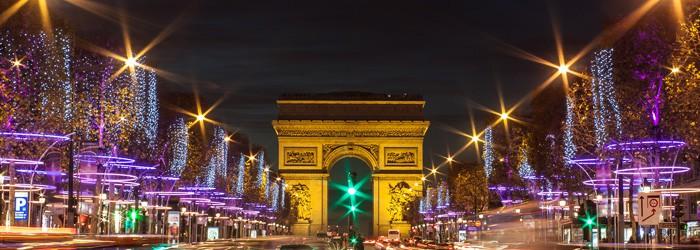 Adventswochenende in Paris: 2 Nächte im 3*Hotel inkl. Direktflug November – Dezember ab 175€