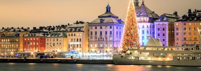 Adventwochenende in Stockholm: 2 Nächte im 3,5*Hotel inkl. Frühstück und Flug ab 183€