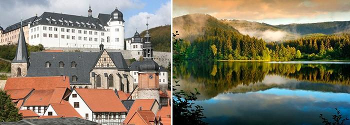 Romantik im Harz: 2 Nächte für 2 Personen inkl. Frühstück und Candlelight-Dinner ab 156€