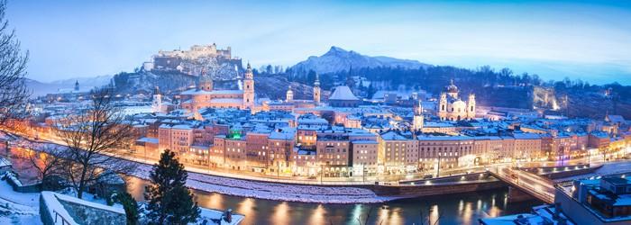 Advent in Salzburg: 3 Nächte im 4*Hotel inkl. Frühstück im November und Dezember ab 99€ p.P.