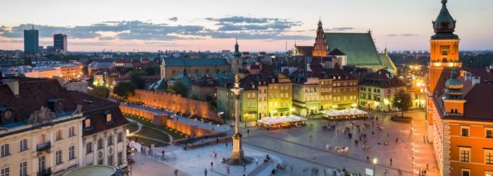 Silvester in Warschau: 2 Nächte im 5*Hotel inkl. Frühstück und Flug ab 177€