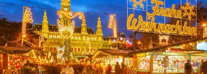 Advent in Wien: 3 Nächte im top 3*Hotel inkl. Frühstück und Flug im Dezember ab 205€