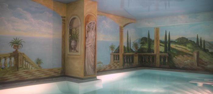 Schlosshotel Groß Plasten Innenpool