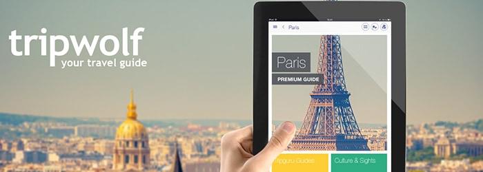 tripwolf: Reiseführer App – 5 City-Guides für 4,99€ statt 24,95€