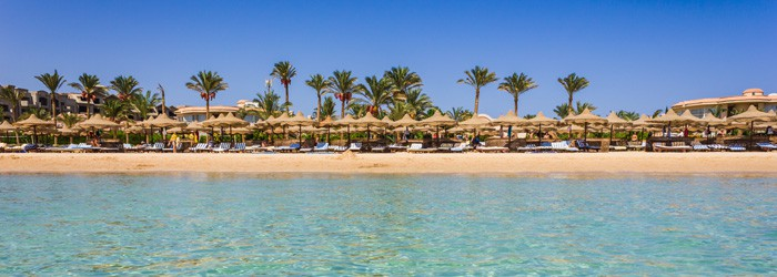 Urlaub in Hurghada: 7 Nächte im 5*Resort inkl. Flug, Halbpension & Transfer von April-August ab 399€ pro Person