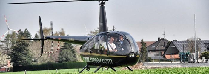 Helikopter Rundflug (20 Minuten)