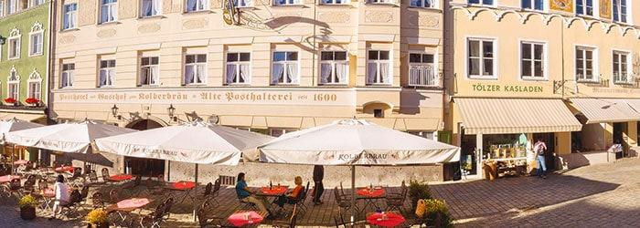 Bad Tölz: 1 Nacht im urigen 3*Posthotel inklusive Frühstück & Tageskarte für das Alpamare von Mai-August ab 49€ p.P.