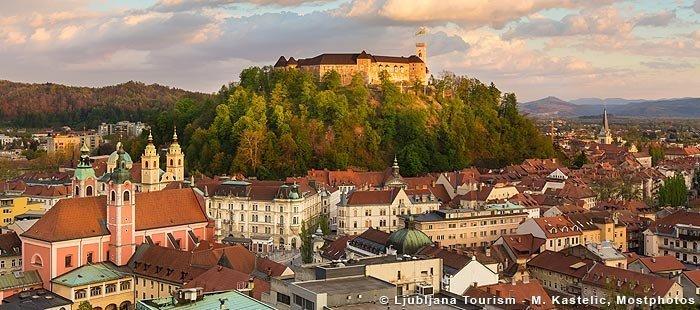 Laibach Urlaub Altstadt