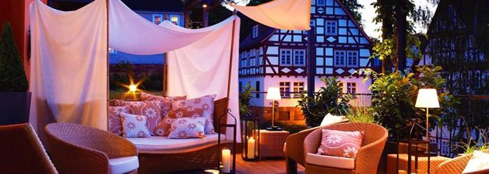 4*Genuss in Frankenberg: 3 Tage im 4*Hotel inkl. Frühstück, 1×3-Gänge-Menü, SPA & Mehr von Juni-September ab 169€