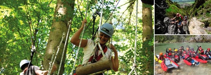 Kletterwald Chiemgau: 2-3 Nächte inkl. Halbpension und Kletterwald Tagesticket ab 79€