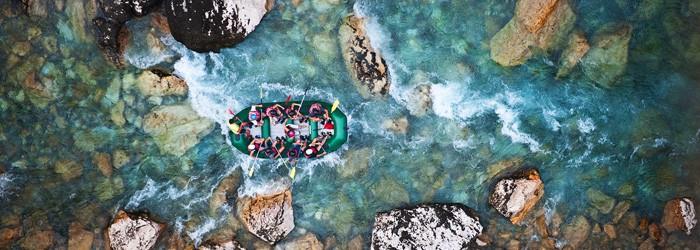 Rafting im Chiemgau: 2 Nächte im 4*Hotel inkl. Frühstück, Wellness und Raftingtour ab 139€