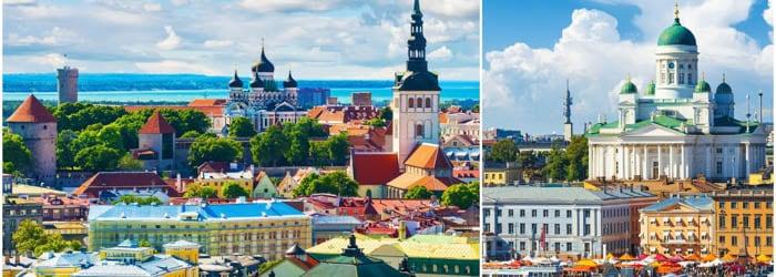 Talinn & Helsinki: 4 Tage im 4*Hotel inkl. Frühstück, Tagestour nach Helsinki & Flügen von August-Oktober ab 189€ p.P.