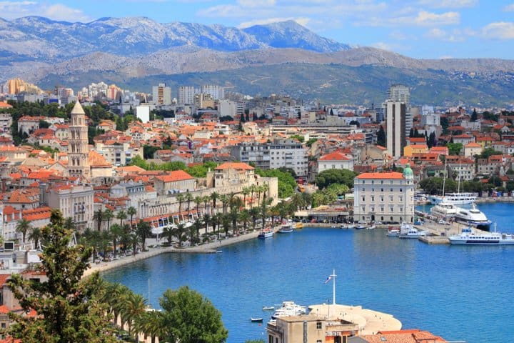 Split Urlaub Stadt