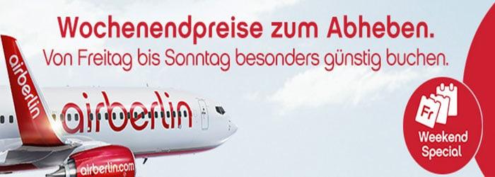 Weekend-Special bei Airberlin: USA-Flüge sichern , z.B. Chicago ab 379€ !!