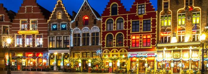 Advent in Brügge: 2 Nächte im 4*Hotel inkl. Frühstück im Dezember ab 114€ p.P.