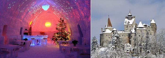 Dracula und Ice-Hotel: 4 Nächte in Bukarest und Transsilvanien inkl. Frühstück, Flüge und Transfers ab 539€
