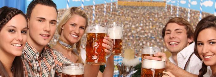 Oktoberfest:1-2 Nächte im Wies'n Camp inkl. 3 x 0,5 L Bier ab 59€