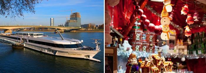 Adventskreuzfahrt am Rhein: 3 Nächte auf der MS Elegant Lady mit All Inklusive Verpflegung ab 199€