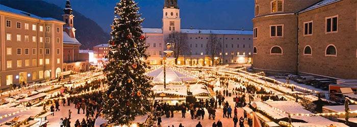 Salzburg zur Weihnachtszeit: 2-3 Nächte im 4*Hotel mit Frühstück + Salzburger Christkindlpass von November-Dezember ab 79€