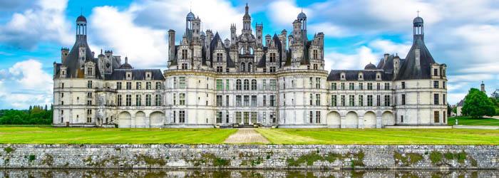 Schloss-Reise Frankreich: 6 Tage in 2 Hotels inkl. Frühstück, 1×3-Gänge-Menü + Eintrittskarten für Schlösser ab 199,50€