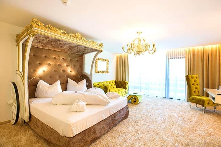 Alpenhotel Fall in Love Seefeld Zimmer