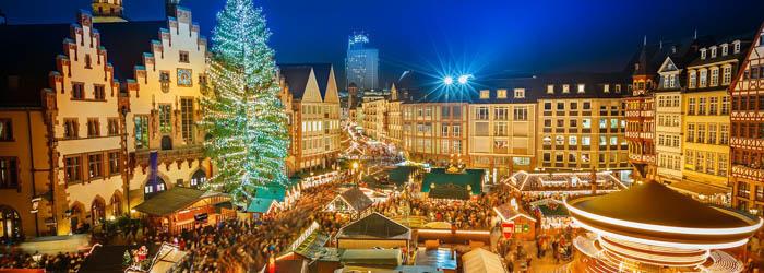 Adventszeit in Frankfurt: 1-4 Nächte im 4*Hotel mit Frühstück und Glühwein im Dezember ab 39€ p.P.
