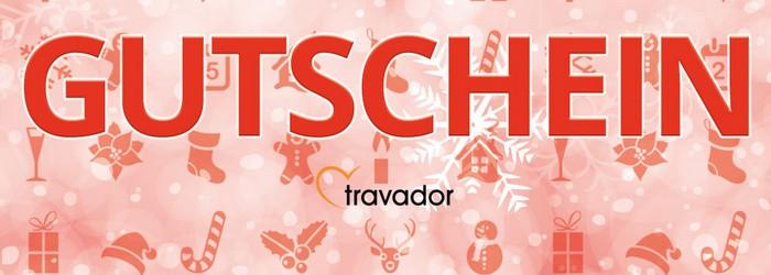 Top: 100 € Gutschein von Travador für nur 49 € – ab Kauf 3 Jahre gültig!