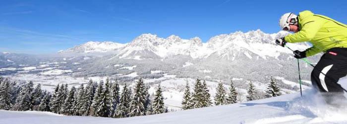 Tiroler Skispaß: 2-7 Nächte im 4*Sporthotel mit Halbpension und Wellness von Januar – April ab 99€ p.P.