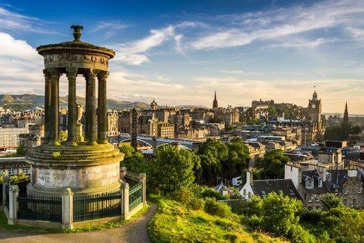 Städtereise Edinburgh