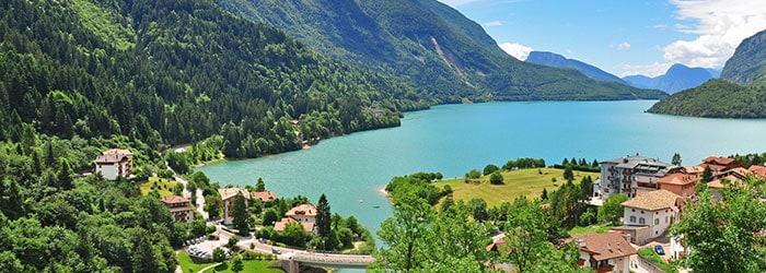 Norditalien Aktivurlaub: 3,4 od. 7 Nächte im 3*Hotel mit HP & Molveno Card von Mai – September ab 119€ pro Person