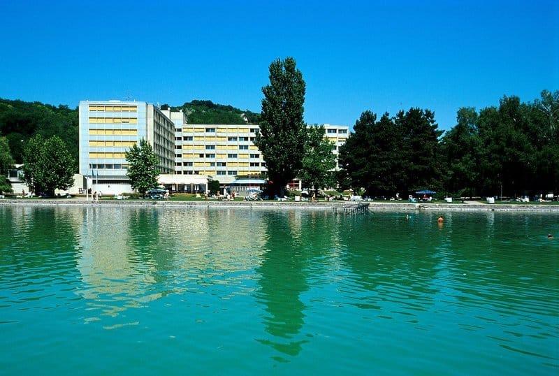 Balaton Urlaub Hotel Seezugang