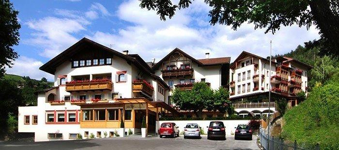 Brixen Hotel von Außen