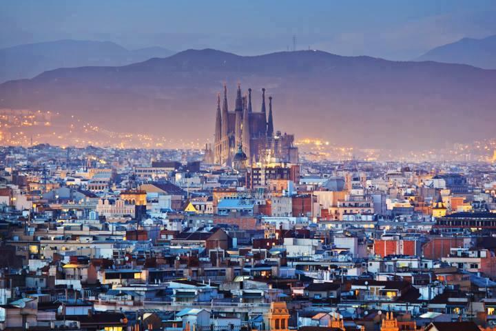 Barcelona Urlaub - Sagrada Familia