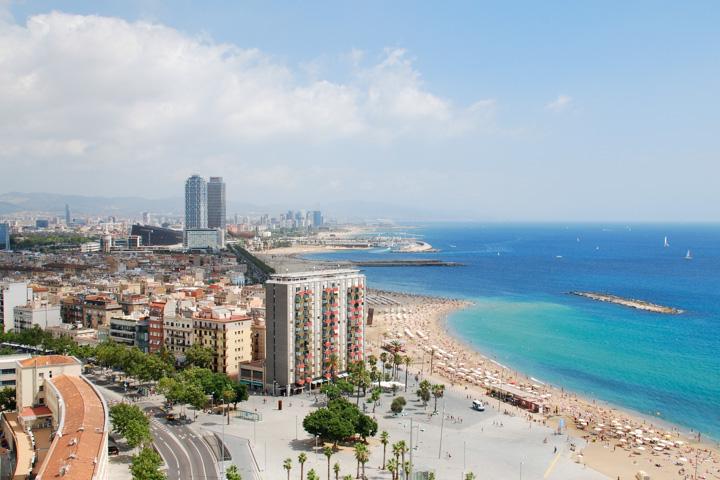 Barcelona Urlaub - Strand