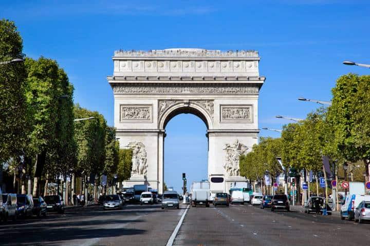 Kurztrip Paris - Arce de Triumphe