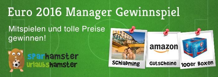 Euro 2016 Manager Gewinnspiel