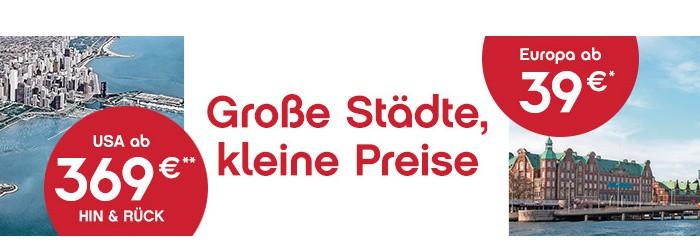 Airberlin Jubelpreise