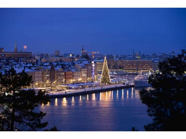 Weihnachtsmarkt Stockholm Markt