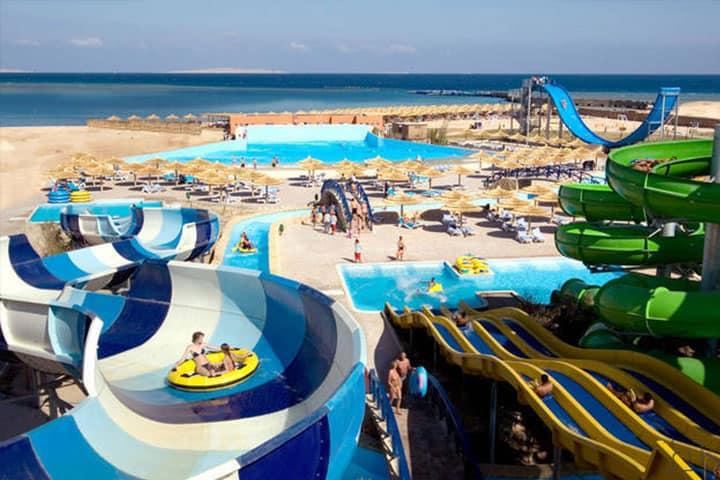 Hurghada Titanic Beach Spa Rutschen