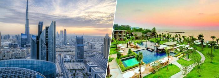 Emirate und Thailand
