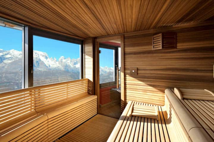 Hotel Montana Sauna