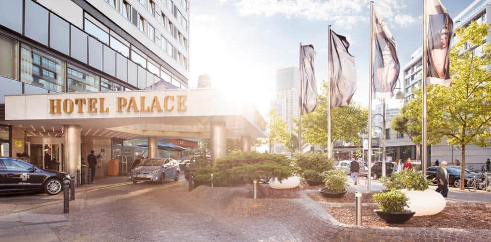 Hotel Palace Berlin von Aussen
