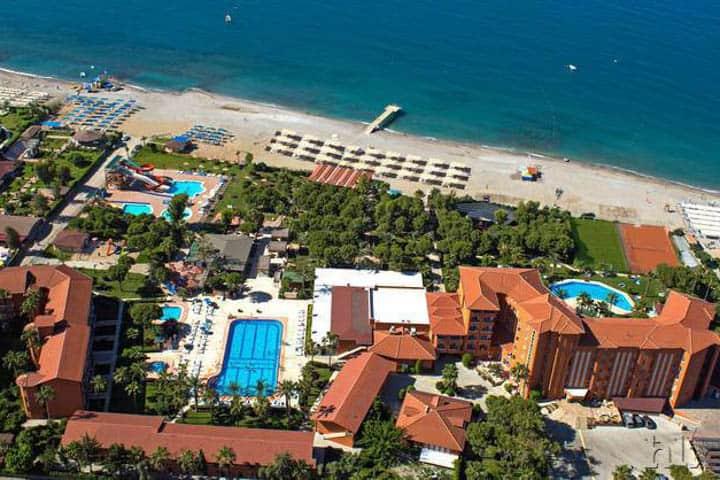 Türkische Riviera Hotelanlage