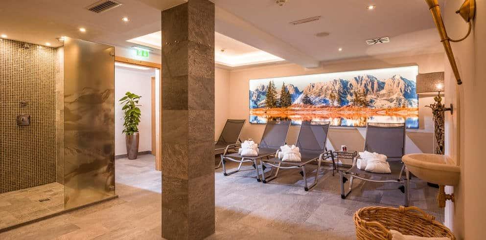Tirol Urlaub Kircherger Hof Sauna
