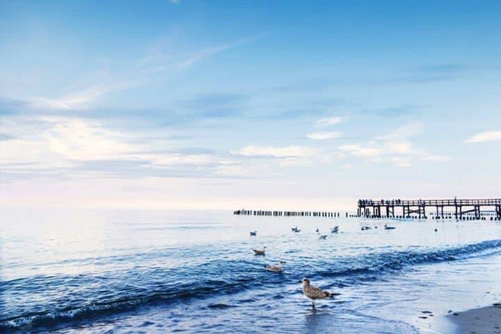 Luxus polnische Ostsee Steg