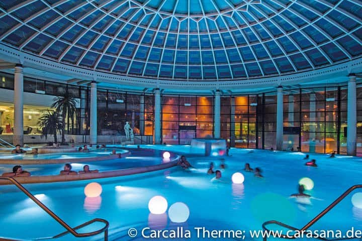 Caracalla Therme 2 Nachte 4 Hotel Thermenbesuch Ab 147