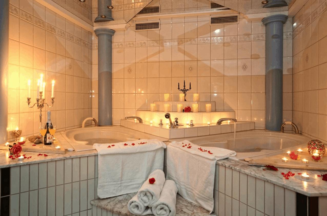 Villa Gutshof Bad für Zwei
